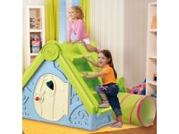 New in Box - Playhouse with slide