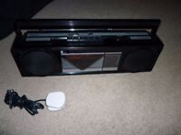 Stereo Radio / cassette tape player / recorder - unused & works perfectly