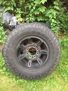 Hummer Rims (8x165) w/Tires