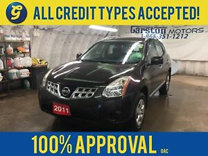 2011 Nissan Rogue AWD*KEYLESS ENTRY*PHONE CONNECT*POWER WINDOWS/
