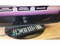 """19"""" lcd HD TV bully in DVD /Freeview"""