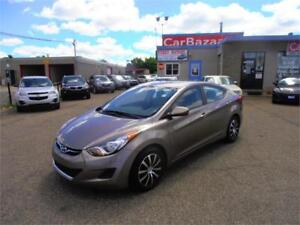 2013 HYUNDAI ELANTRA ALLOYS 4 CYL LIKE NEW EASY CAR FINANCING