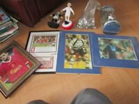 FOOTBALL ITEMS SOME SIGNED