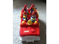 Disney Toy Fire Truck - Mickey Mouse, Donald Duck, Goofy & Pluto