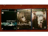 Ps2 silent hill games
