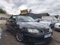 All major credit debit cards accepted Saab 9-3 2.0T Aero Convertible, 116,969 miles MOT 09/02/2018