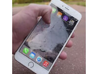 Wanted faulty iPhones. With broken screens, cracked screens and so on.