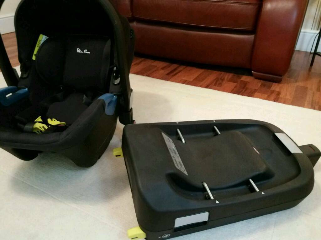 Silver cross car seat and Iso fix
