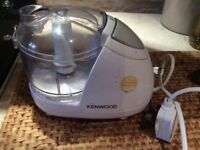 Kenwood mini mixer- extra blade and bowl