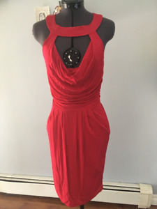 Rare NWOT Guess by Marciano Red Dress