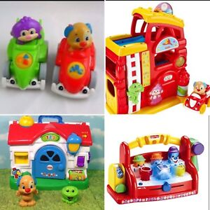 Massive fisher price laugh and learn toy lot