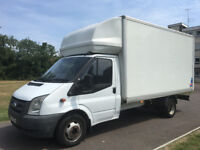 FORD TRANSIT LUTON 2.4 TDCI 57 REG - 13FT BODY - 6 SPEED - DRIVES PERFECTLY - GOOD CONDITION -NO VAT