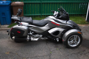 can am spyder rs se5 2011