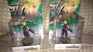 FF7 Cloud Amiibos
