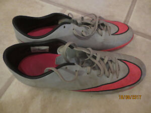 Nike turf/indoor soccer shoes, 2 pairs