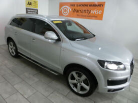 2009 Audi Q7 3.0TDI 237bhp Tiptronic quattro S-Line **BUY FOR ONLY £79 A WEEK**