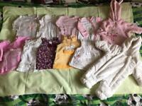Baby girl cloths 0-3