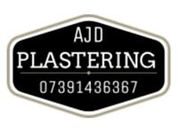 AJD PLASTERING SERVICES, FOR ALL OF YOUR PLASTERING NEEDS INTERNAL AND EXTERNAL.