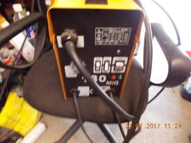 For sale my mig welder 130 amps, gass less.