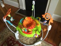 Jumperoo in excellent condition (fisher price - rainforest)