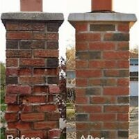 Brick Chimneys/Brick Faces/Stainless steel Installs/Insured