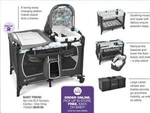 Baby trend ELX nursery centre