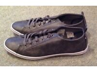 Topman Mid Grey Reflector Shoes