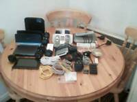 Electronics Bundle. Tablet/Routers/Phones/Cables