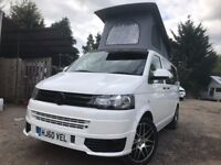 2010 VW TRANSPORTER T5 .1 POP TOP 4 BERTH NEW CONVERSION 2TD 6 SEATER CAMPERVAN