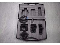 DPA Condenser Microphone Set 3x DPA4022 and 1x DPA4011 £6000