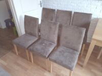 For sale dinning chairs