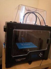 3D Printer (Flashforge Creator Pro)