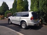 2003 Mitsubishi Shogun Sport Equippe 2.5 Td Diesel 4x4 4wd