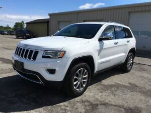 2016 Jeep Grand Cherokee Limited 4X4/CARPROOFCLEAN/NAV/LEATHER/M