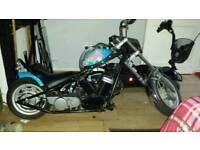 50 cc hard tail chopper custom bike