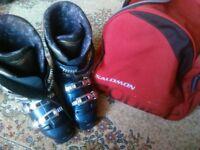Ski boots Salomon Equipe