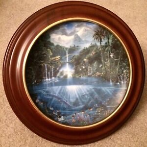"""Hamilton Collection """"Sanctuary of the Dolphins"""" collector plate"""