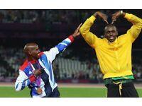 SEE BOLT & FARAH ON SUPER SATURDAY 12TH AUG..2x CAT A TICKETS..IAAF World Athletics Championships