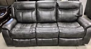 New 3Piece 2Tone 5Rec USBglider loveseat, sofa couch, recliner