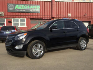 2016 Chevrolet Equinox LEATHER, REMOTE START, CAMERA