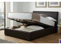 Double otterman bed.