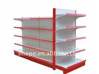 STRONG AND EYE-CATCHING METAL SHOP SHELF ~ EASY FITTING