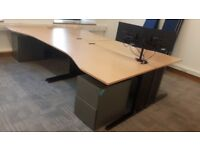 beech executive office desks ideal for new office fit out