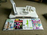 Wii with wii fit board