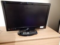 Logik 22 inch Remote control Television with built in DVD player