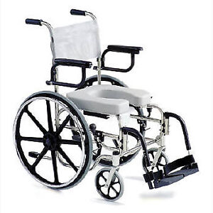 """Shower Commode Chair - 24"""" Wheels $550.00 OBO"""