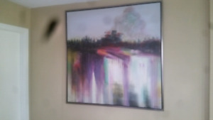 Beautiful large abstract painting