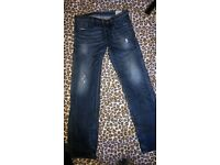 Diesel industry jeans W 34 L34, regular straight, condition very good.