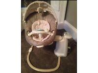 Grace sweet peace baby swing chair