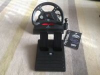 Mad Catz steering wheel